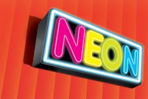 Neon-Spray