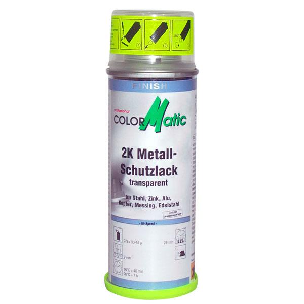 Hochglanz Lackieren Metall : COLORMATIC 2K Schutzlack Felgen Versiegelung 200ml  f?r alle Metalle
