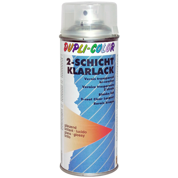 Duplicolor Autospray 400 ml. universele blanke lak