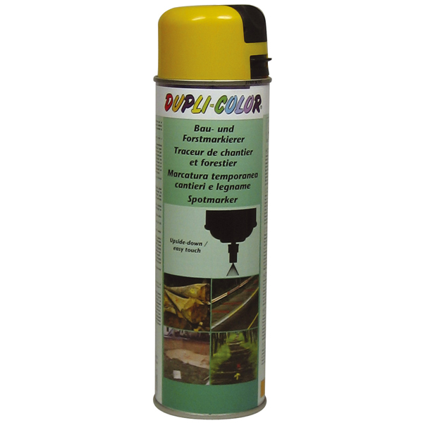 Duplicolor Spotmarker omkeer wit 500 ml.