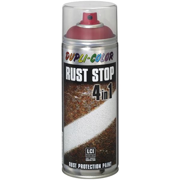 Duplicolor Rust Stop 400 ml. zijdemat RAL 9006 zilver